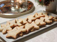 Ginger Shortbread recipe from Ina Garten via Food Network