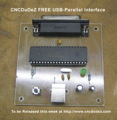 USB TO Parallel Port DIY Interface