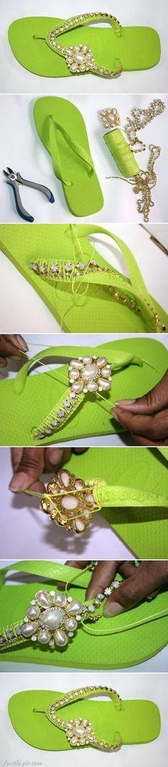 Diy flip flops crafts