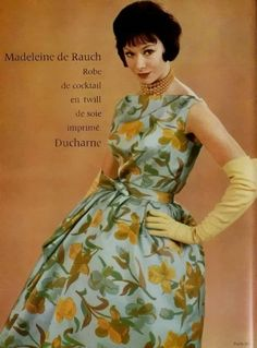 Madeleine De Rauch Cocktail Gown - 1960