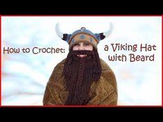 Crochet Viking Hat And Beard Tutorial Video - Crochet News