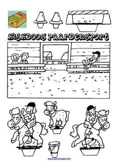 Kijkdoos paardensport voor mijn paarden-gekke-dochter :)