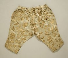 Trousers Date: ca. 1675 Culture: French
