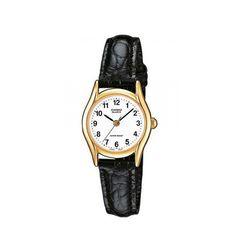 Casio Collection - Men Wrist Watch on YOOX. The best online selection of Wrist Watches Casio. Gents Watches, Stylish Watches, Casual Watches, Watches For Men, Casio Vintage, Casio Quartz, Casio Watch, Gold Bands, Black Leather