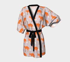 Foxes Kimono