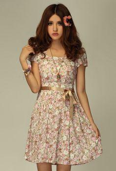 2012 Summer Fashion Collection Dress 1550 - Dresses - korean japan fashion clothes dresses wholesale women