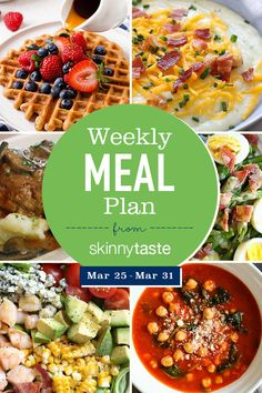 Skinnytaste Meal Plan (March A free flexible weight loss meal plan including breakfast, lunch and dinner and a shopping list. All recipes include calories and Weight Watchers Freestyle™ SmartPoints®. Weight Loss Meals, Ketogenic Diet Meal Plan, Diet Meal Plans, Meal Prep, Planning Budget, Meal Planning, Diet Recipes, Healthy Recipes, Healthy Foods
