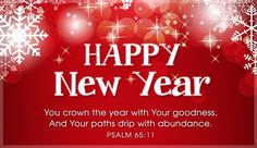 new year psalm 6511 psalm 65 11 email greeting cards bible