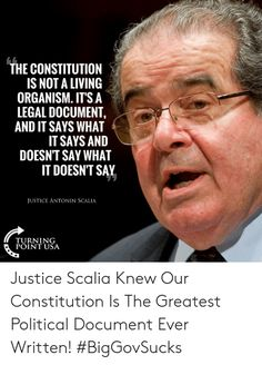 15 Antonin Scalia Ideas Justice Scalia Quotes Words