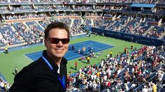 Tennis US Open. Check √ #BucketList #NY #Federer