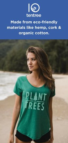 We support and protect the environment by planting ten trees for every purchase. Made from eco-friendly materials like hemp and tencel our shirts will help you connect with nature.