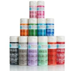 Martha Stewart Multi Purpose Craft Paint-for most surfaces:fabric, wood, metal,glass and ceramic Cheap Craft Supplies, Craft Supplies Online, Online Craft Store, Wholesale Crafts, Wholesale Craft Supplies, Craft Sites, Martha Stewart Crafts, Craft Corner, Craft Materials
