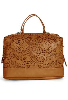d911fe2c79d7a Cut Out Doctor Bag in Camel    Chicwish    Classic with a twist!