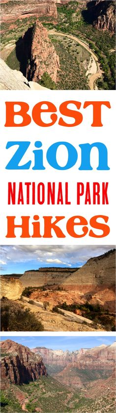 Zion National Park Utah!  Check out these top Zion National Park Hikes before you go! | NeverEndingJourneys.com
