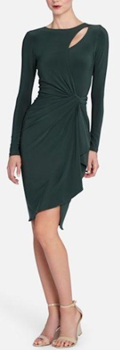 pretty jersey keyhole drape dress http://rstyle.me/n/p6zfvr9te