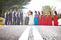 The Shady Mango Wedding {Samantha   Mackenzie} coral and turquoise