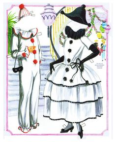Masquerade Party Paper Doll by Sandra Vanderpool - Katerine Coss - Picasa Web Albums