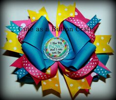 Beautiful Boutique Bow ...  this one is for the moms of my generation lol