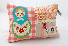 Everyone needs a babushka pillow.