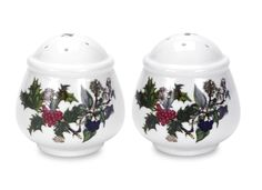 1 Set 2 Piece The Holly & The Ivy Salt and Pepper Set