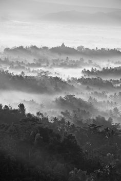 All sizes | Missing Shots of Misty from Borobudur | Flickr - Photo Sharing!