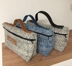 Handmade Handbags, Handmade Bags, Shirt Bag, Diy Handbag, Bag Patterns To Sew, Harris Tweed, Fabric Bags, Cloth Bags, Fashion Bags