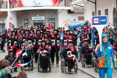 The #Paralympic spirit has never shone brighter than with our Canadian Paralympic Team in #Sochi2014. #CIBC