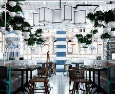 Latin City Food Hall + Lounge + Pata Negra Restaurant - 108 N State St.