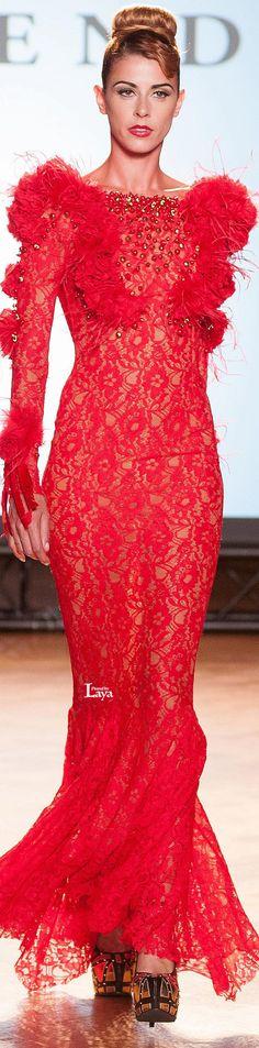 LEGENDS BY SYLVIA SERMENGHI & BILAL BARRAGE F/W 2014-15 Couture