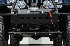 Ferrari Blue Nart Kevlar Custom 2014 Jeep Wrangler Unlimited: Custom Lift Kit