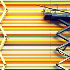 Lovin bright stripes! Matthias Heiderich