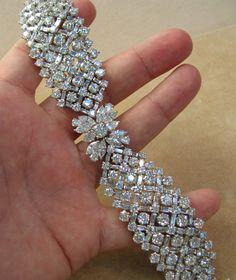 50 Carat Diamond Bracelet