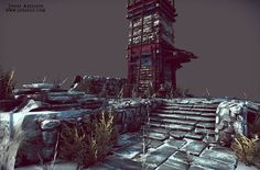 Tibetan Tower    This scene was made in 2 weeks & rendered in marmoset - Artwork by Jonas Axelsson    Tri Count: 26348
