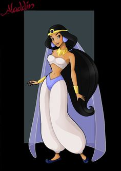 princess jasmine (poor iago)  -  commission by nightwing1975; LOVE