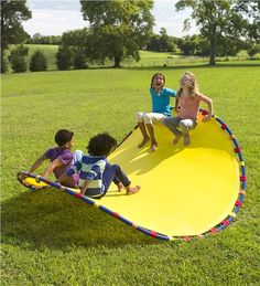 Etonnant Fun For One (and For Friends), The Wonder Wave Is An Outdoor Active Play Toy  Like No Other; Kids Can Use It As A Chair, Rocker, Hammock, Or Balancing ...