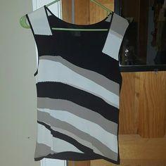 Dressy tank Dressy striped tank top The Limited Tops Tank Tops
