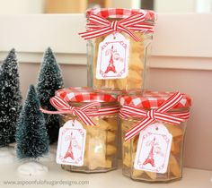Shortbread Stars | A Spoonful of Sugar, ADORABLE!