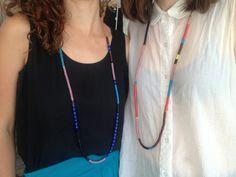 ADNER & BERGART - Vintage Snake Bead Necklaces