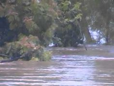 Red River flood 2015 Arthur City Texas part 3 - YouTube