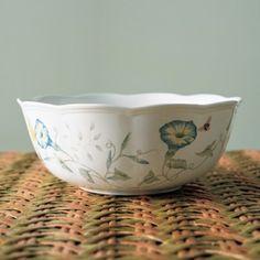 레녹스 버터플라이 가든 serving bowl small