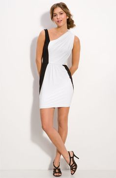 Soprano Drape Colorblock Dress.   Such a cute dress for only $23.00