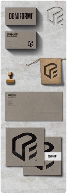 Logo for architect specialized in interior design.