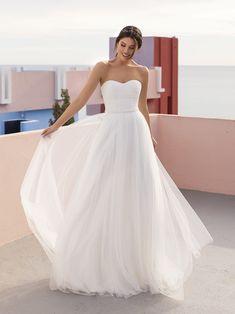 Mercury Formal Dresses For Weddings, Princess Wedding Dresses, Tulle Wedding, White Wedding Dresses, Designer Gowns, Home Wedding, Pretty Dresses, New Dress, One Shoulder Wedding Dress