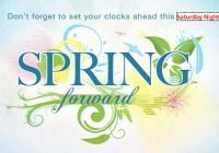Daylight Savings Spring Head