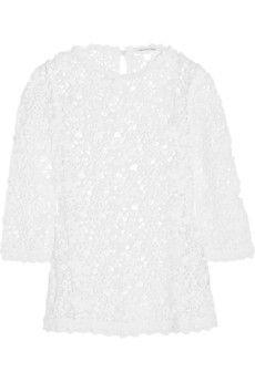 Étoile Isabel Marant Deb guipure lace top   NET-A-PORTER