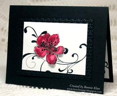 Everything Eleanor in Black Mambo by bon2stamp - Cards and Paper Crafts at Splitcoaststampers