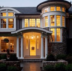 Beautiful Exterior Home Design Trends: Belle Maison (Façade) . Houses Architecture, Modern Architecture, House Goals, Humble Abode, Home Fashion, My Dream Home, Dream Baby, Exterior Design, Stone Exterior