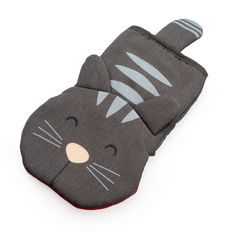 This mitt will add a touch of fun to your kitchen Grey color smart cat design Made of polyester and silicone heat resistance up to Practical with good fit built-in a hook Golden Hall, Company Id, Cat Design, Cat Lovers, Gray Color, Baby Shoes, Kitchen, Skillets, Pots