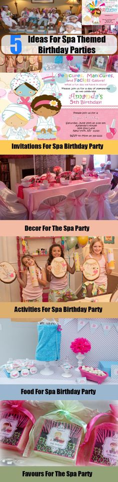 5 Ideas For Spa Themed Birthday Parties