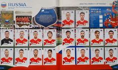 Album figurine mondiali World cup Russia 2018 - Panini FOTO Russia 2018, Fifa World Cup, Playing Cards, Soccer, Breakfast Nook, Trading Cards, Figurine, Playing Card Games, Game Cards
